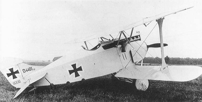 Германский истребитель А.Е.G. D.I