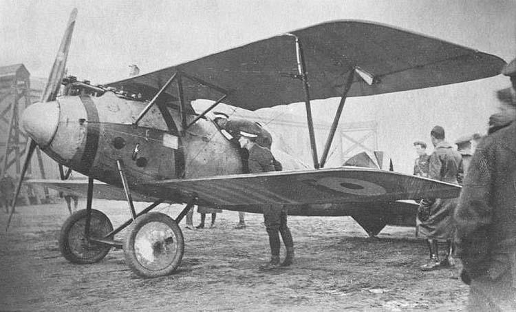 Германский истребитель Albatros D.V