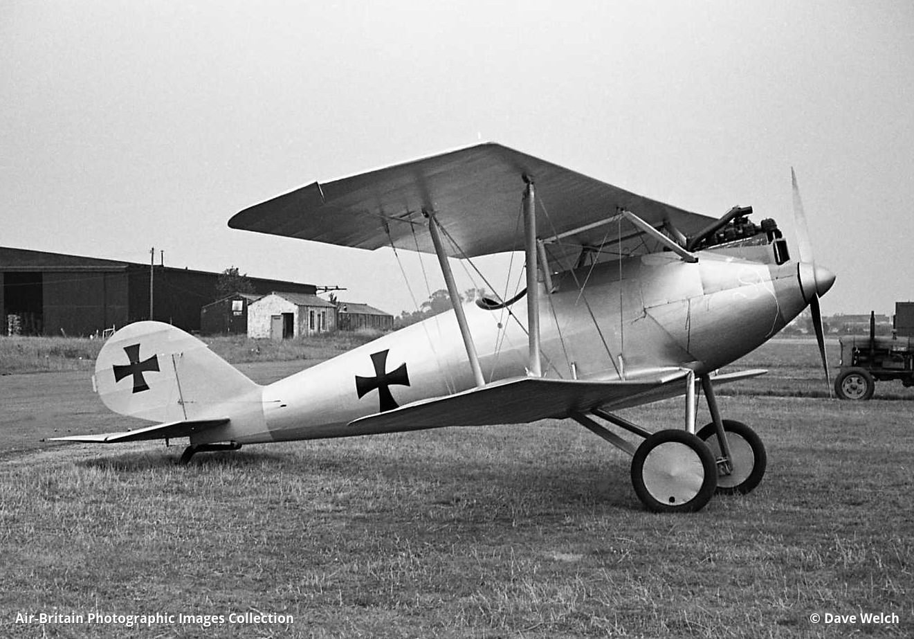 Германский истребитель Pfalz D.III