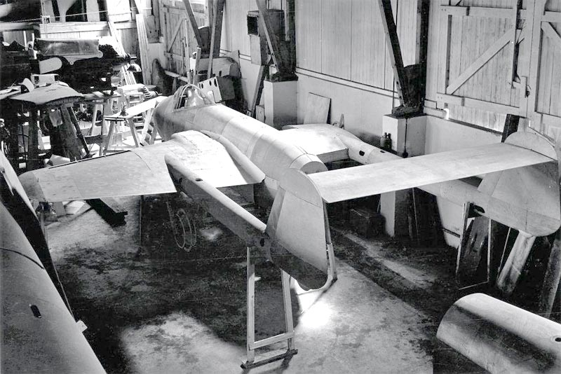 """Немецкий истребитель Focke-Wulf Fw 226 """"Flitzer"""""""