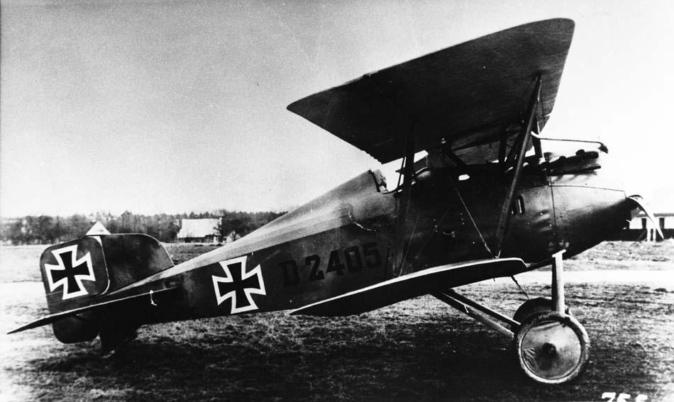 Германский истребитель Friedrichshafen FF.46