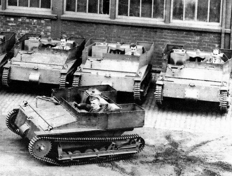 Советская танкетка Т-27