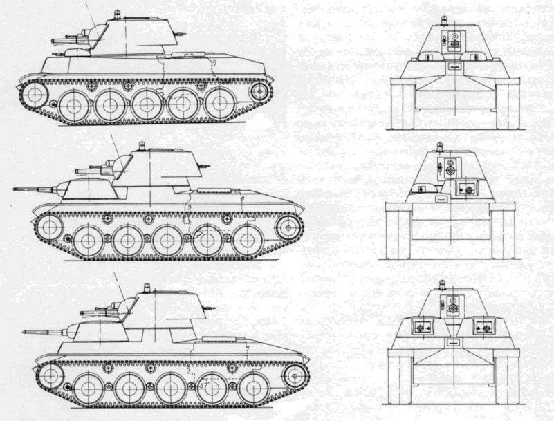 Средний колёсно-гусеничный танк «Объект 115» завода № 185