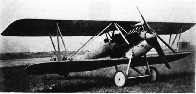 Германский истребитель LVG D.III