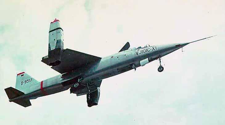Немецкий истребитель-бомбардировщик EWR-Sud VJ 101 С