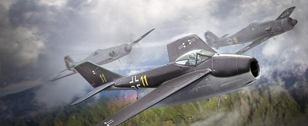 Немецкий истребитель Focke-wulf Fw 252