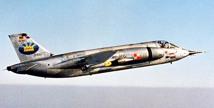 Немецкий истребитель-бомбардировщик VFW VAK 191 В