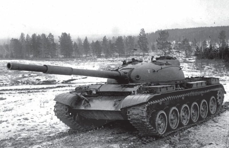 Советский средний танк «Объект 166ТМ»