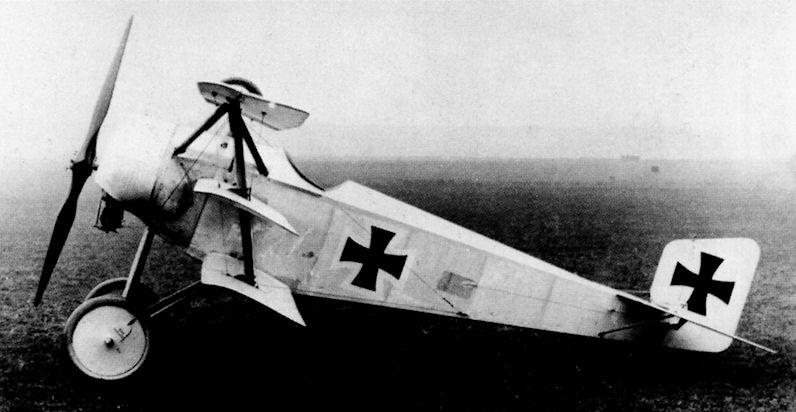 Германский истребитель Euler Dr.II