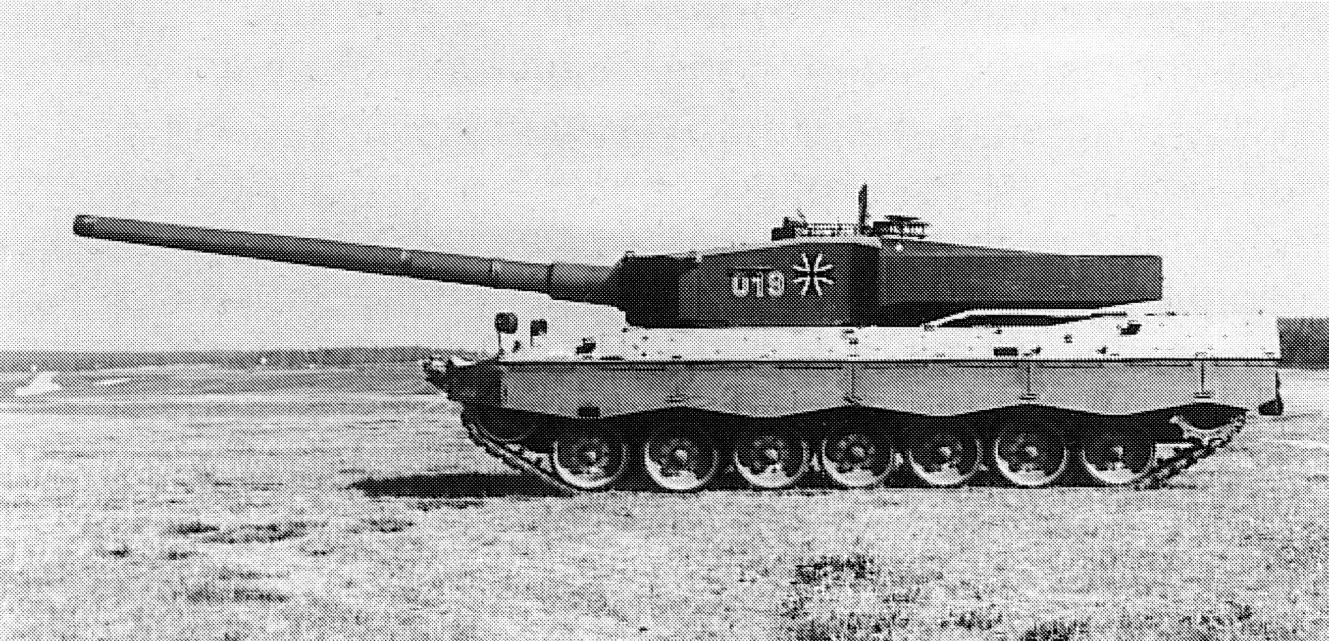 """Немецкий опытный танк """"Leopard 2-140"""""""