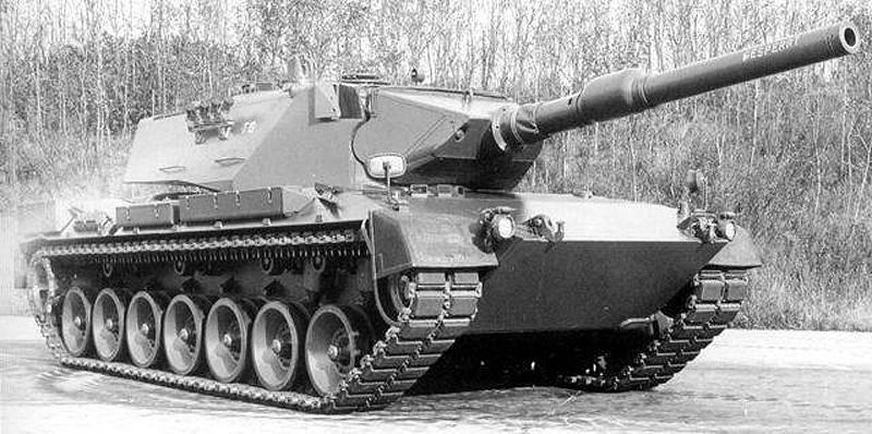 """Экспериментальный немецкий танк """"Eber"""""""