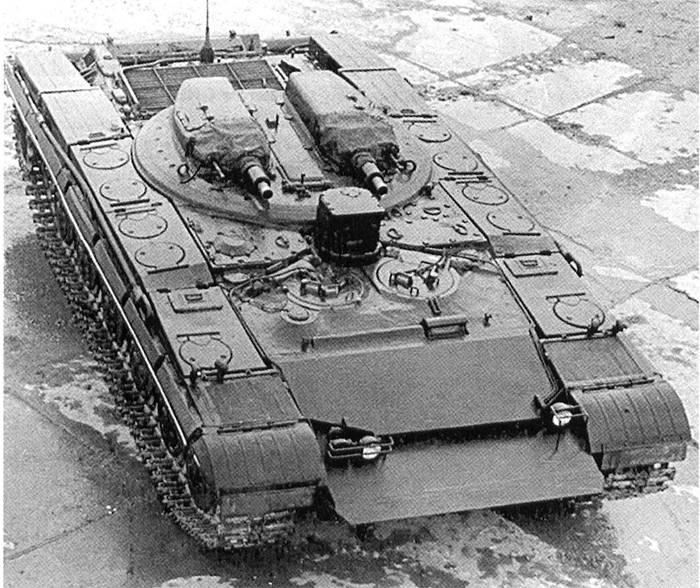 Советский средний танк «Объект 287»