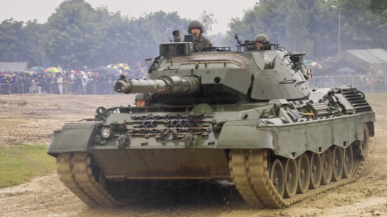 "Немецкий танк ""Leopard 1"""