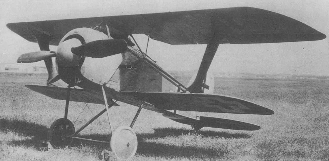 Германский истребитель Albatros D.XI