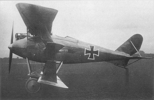 Германский истребитель Friedrichshafen FF.54