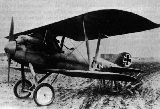 Германский истребитель LVG D.IV