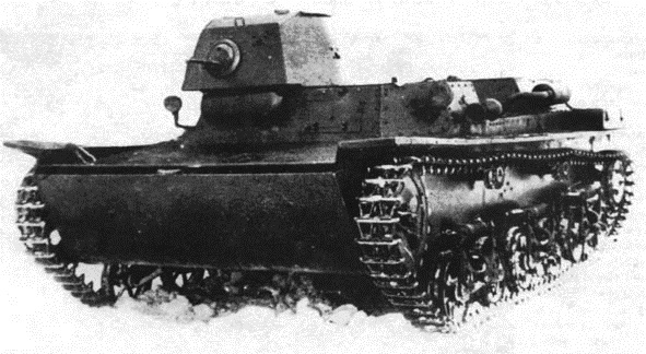 Советский плавающий танк ТМ