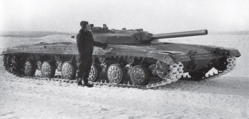 Советский средний танк «Объект 775»
