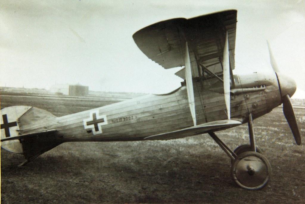 Германский истребитель Roland D.XIII