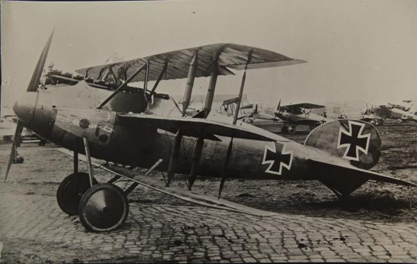 Германский истребитель Albatros Dr.II