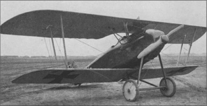 Германский истребитель Aviatik D.III