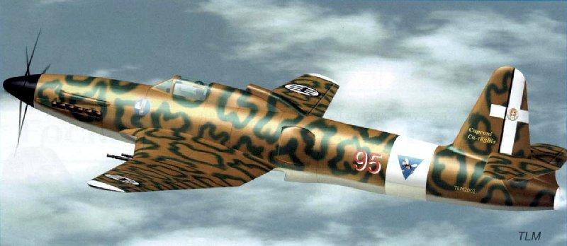 Итальянский истребитель Caproni Cа.183bis