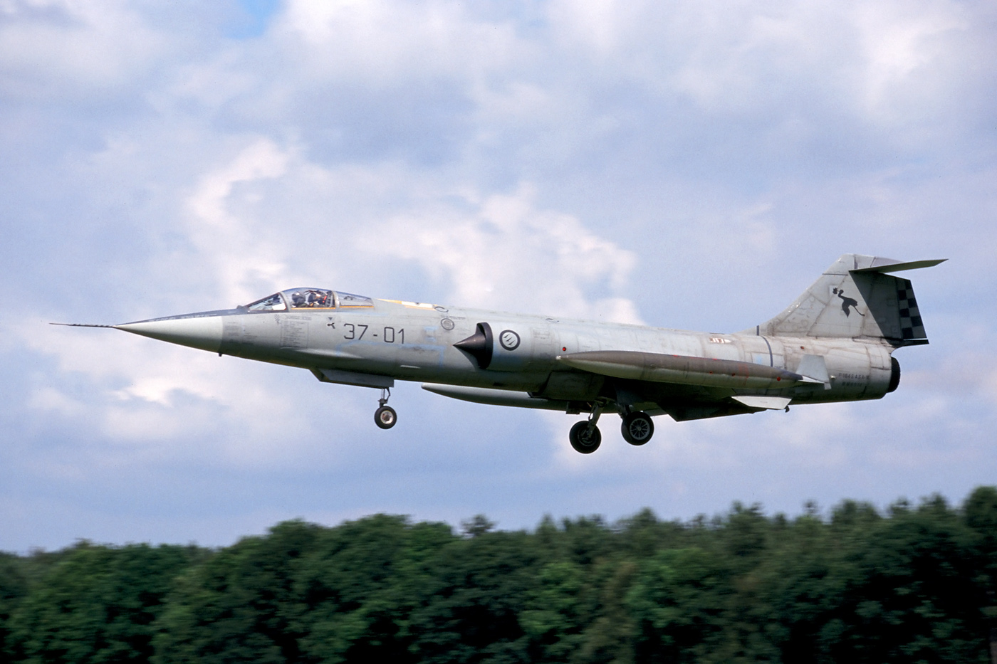 "Итальянский истребитель Aeritalia-Lockheed F-104S ""Starfighter"""