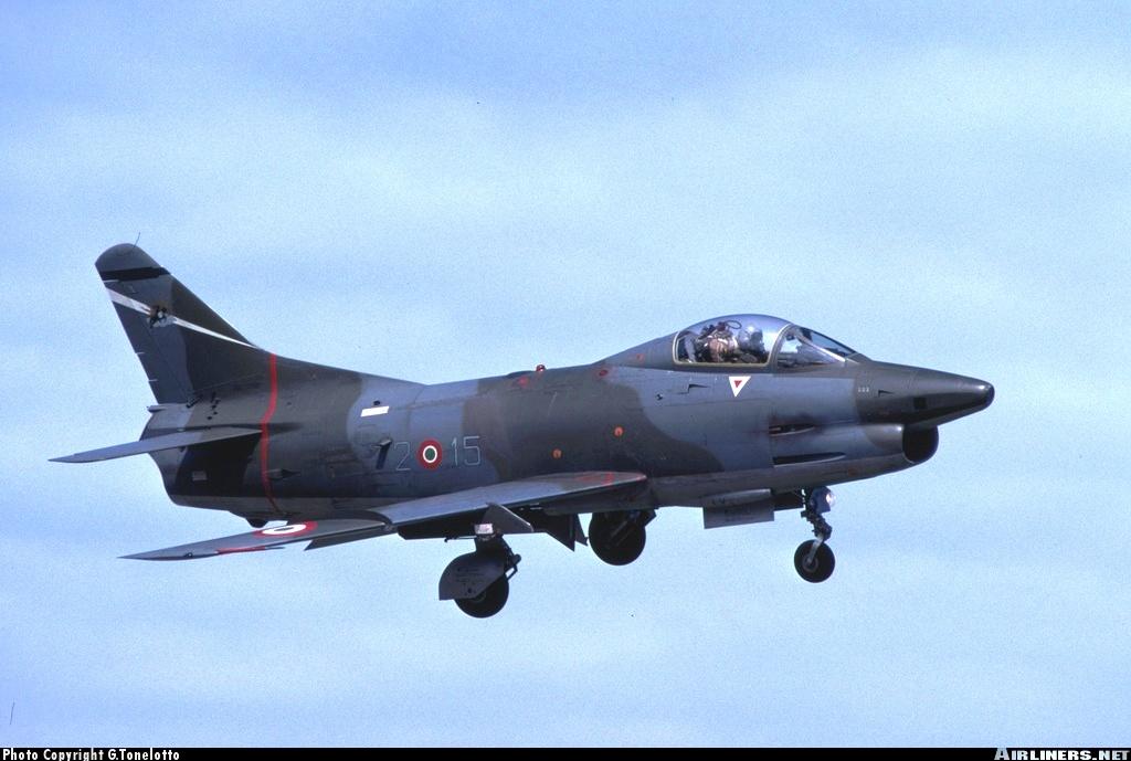 Итальянский истребитель-штурмовик Fiat G.91