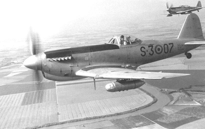 Итальянский истребитель Fiat G.59