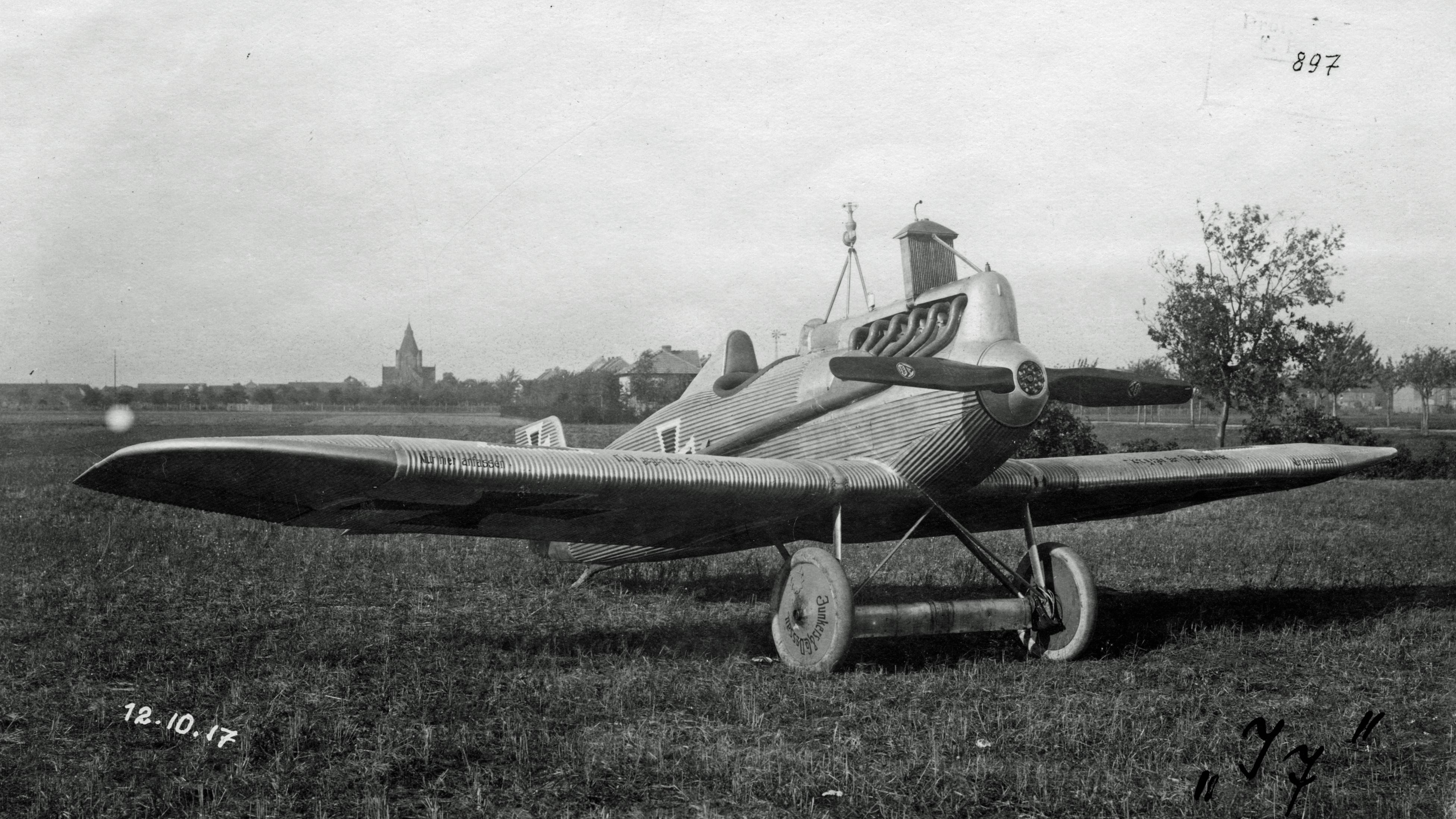 Германский истребитель Junkers J.7