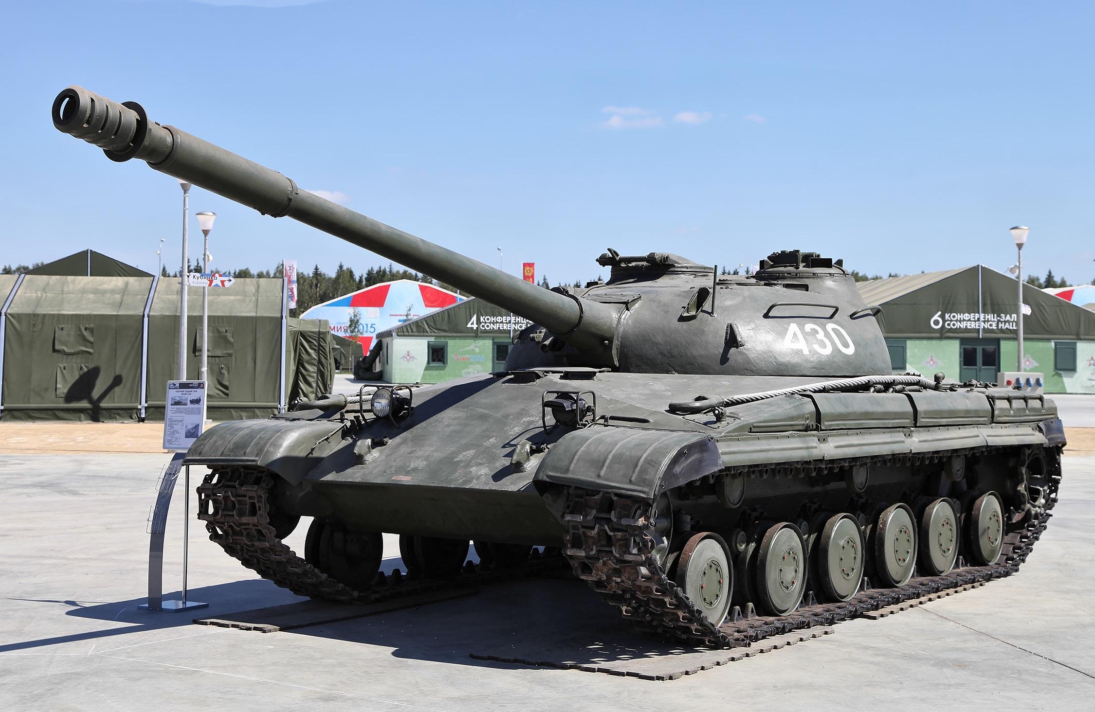 Советский средний танк «Объект 430»