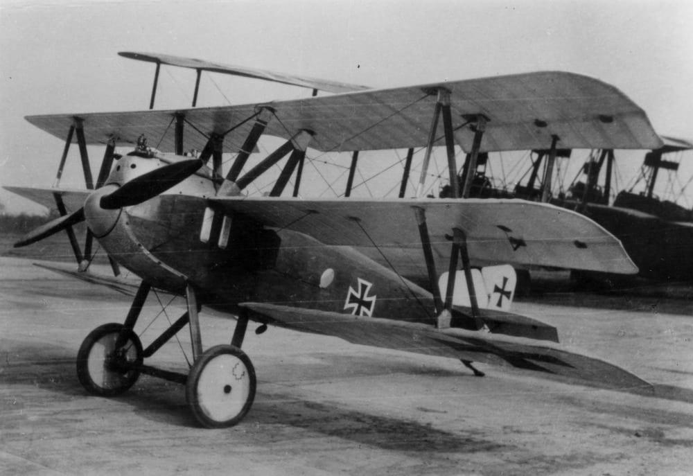 Германский истребитель Schutte-Lanz Dr.I