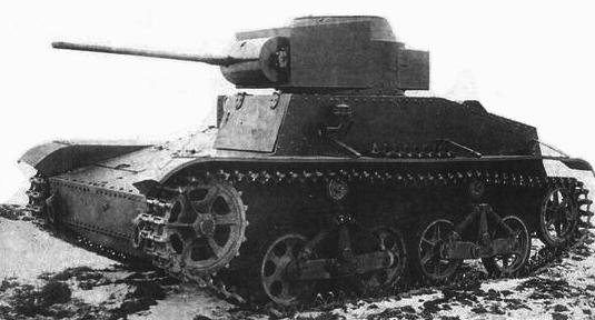 Советский малый танк Т-34