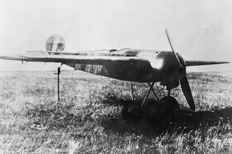Германский истребитель Fokker V.17