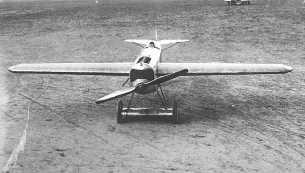 Германский истребитель Fokker V.23