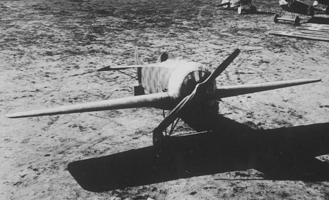 Германский истребитель Fokker V.25