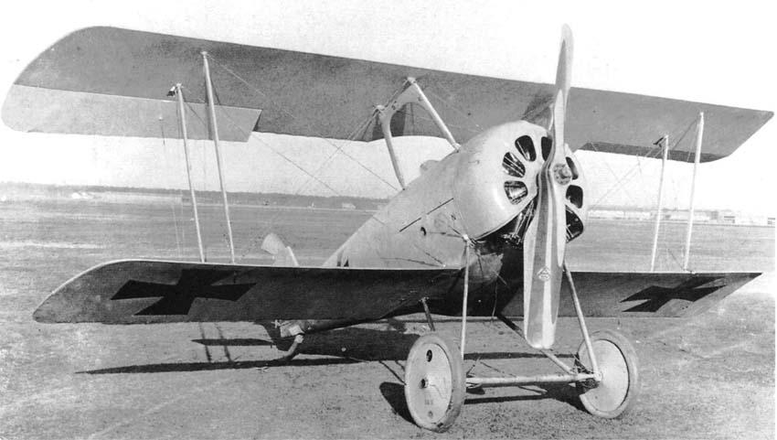 Германский истребитель Pfalz D.VII