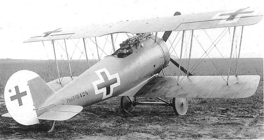 Германский истребитель Pfalz D.VIII
