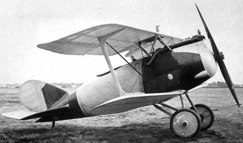 Германский истребитель Rumpler 7D4