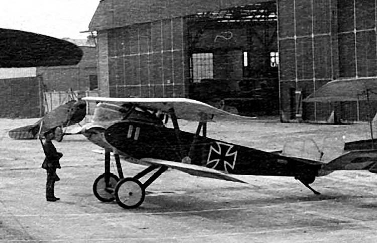 Германский истребитель Schutte-Lanz D.VI