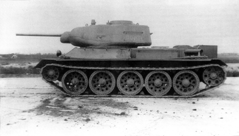 Советский средний танк Т-43