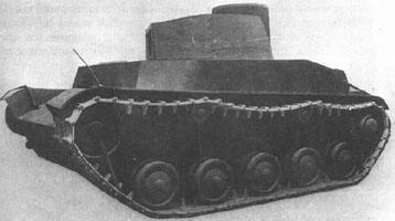 Советский лёгкий танк ВАММ