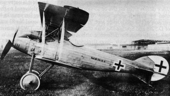 Германский истребитель L.F.G. Roland D.XV