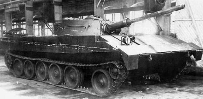 Плавающий танк Р-39