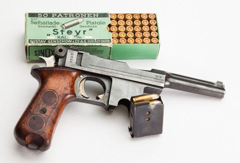 Пистолеты «Bergmann» (Германия-Бельгия)