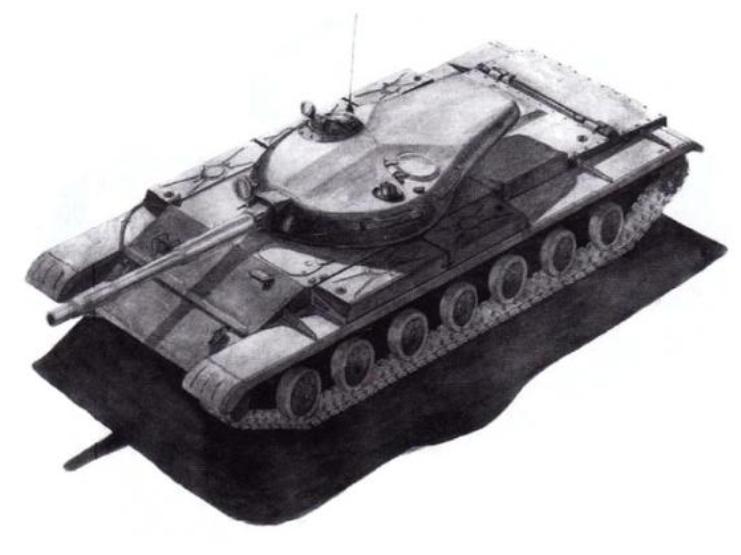 Лёгкий танк «Изделие 64992»