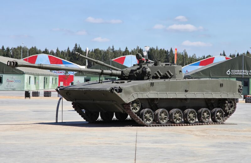 Плавающий авиадесантный танк «Объект 685»