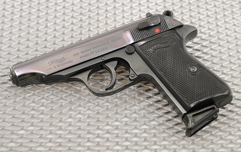 Пистолеты «Walther» РР и РРК (Германия до 1945 г.)