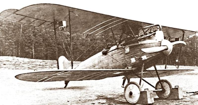 Германский истребитель D.W.F. D.I