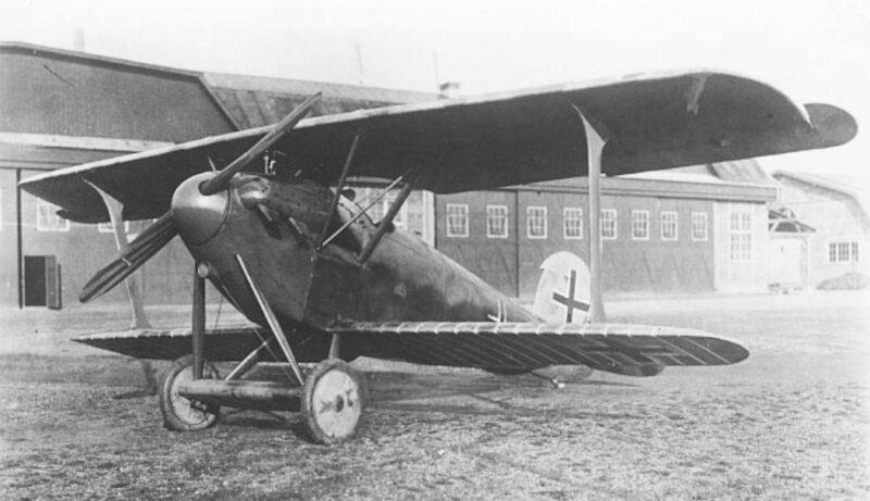 Германский истребитель Daimler D.II